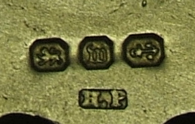 silver hallmarks anchor