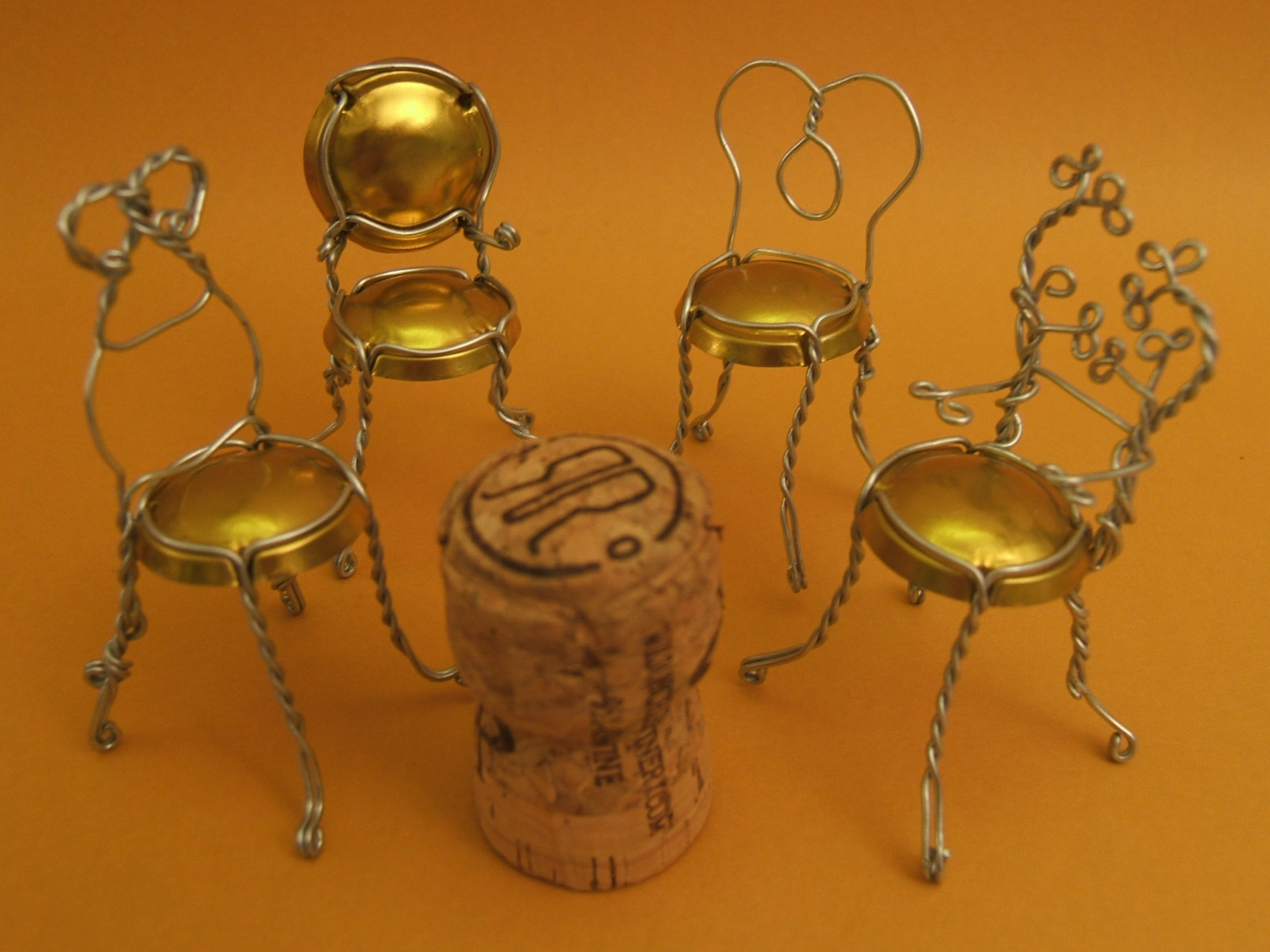 Crafting Bubbly Bistro Chairs From Champagne Cages The Tamara