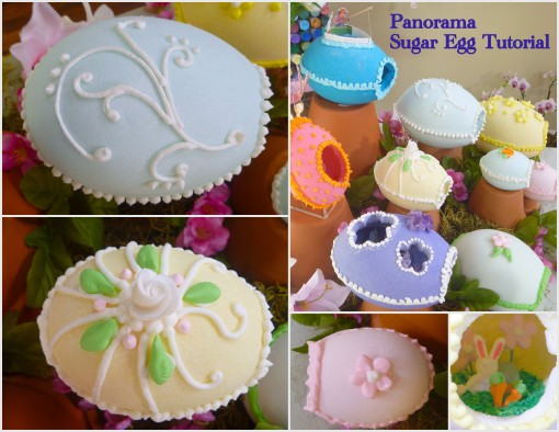 Panorama Sugar Eggs Tutorial