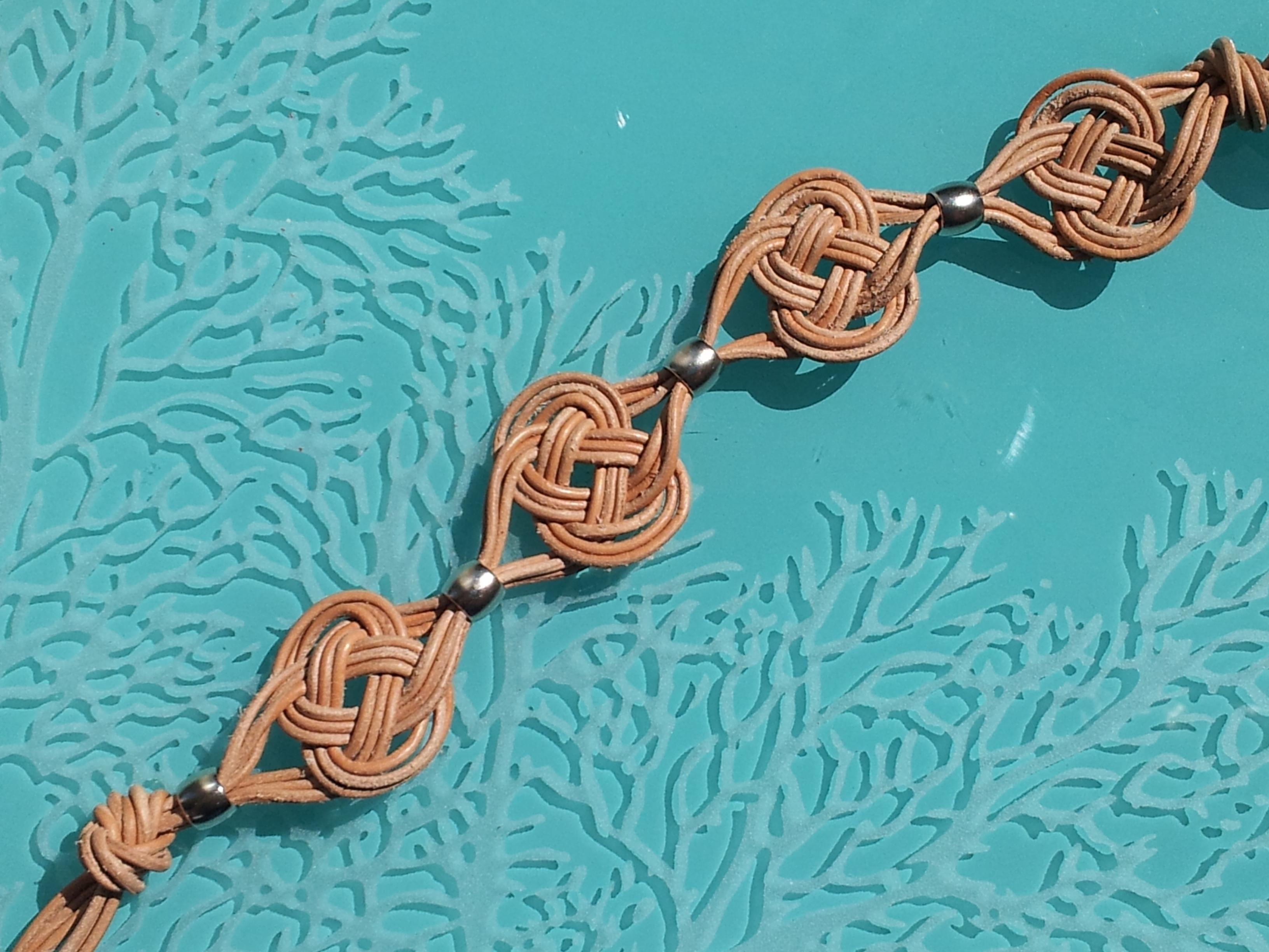 Celtic Knot Bracelet Tutorial The Tamara Blog