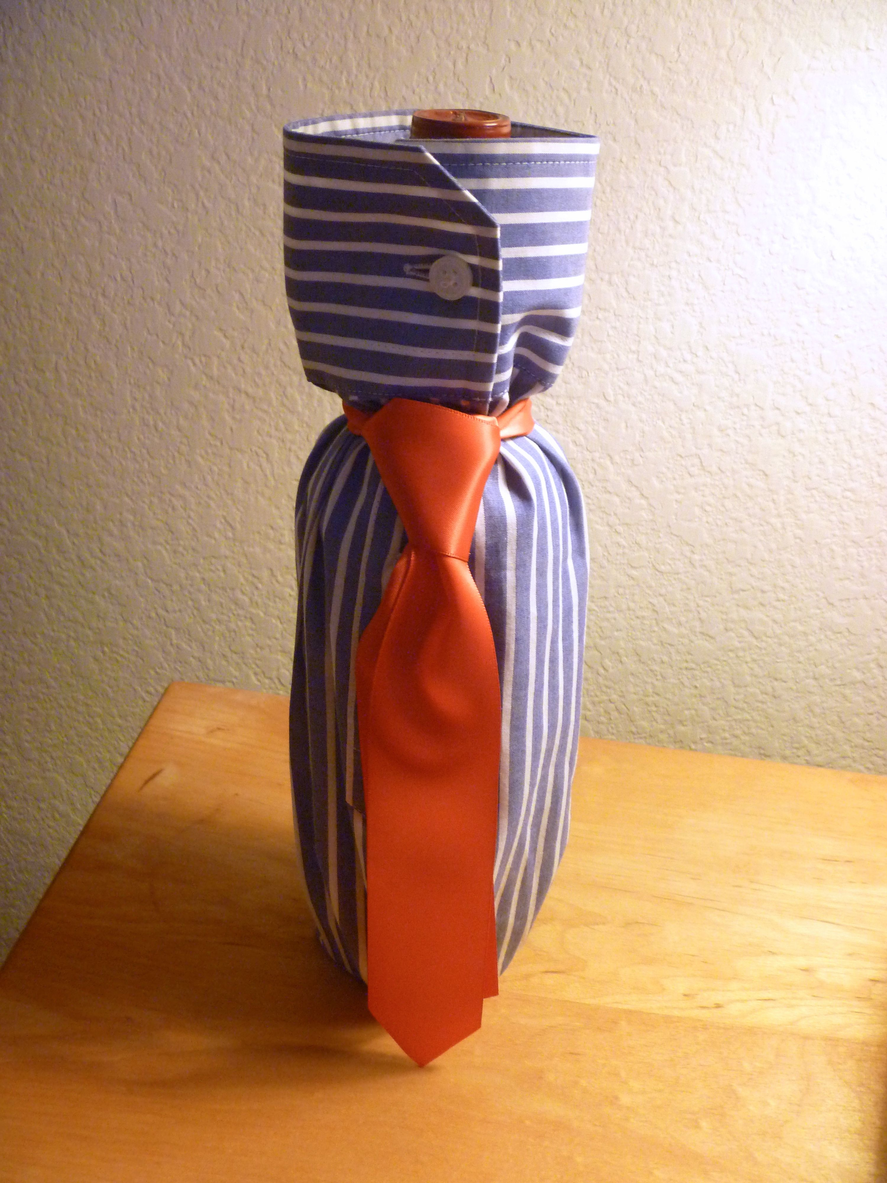 Shirt Gift Wrap A Bottle For Your Man Father S Day