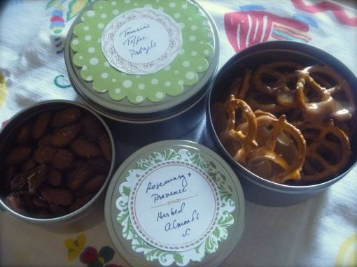 P1030249 Pretzels and Almonds