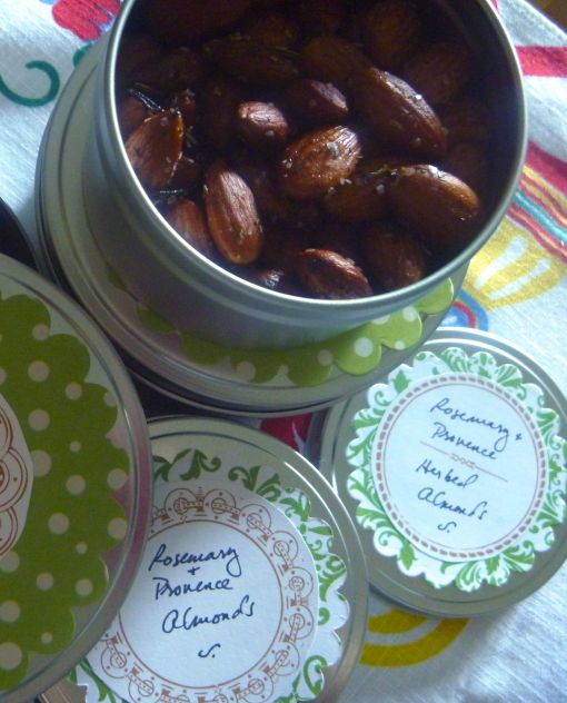 Rosemary Herbed Almonds