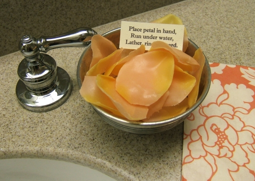 DIY Soap Petals