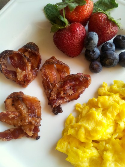 Candied Bacon Hearts -- The Tamara Blog
