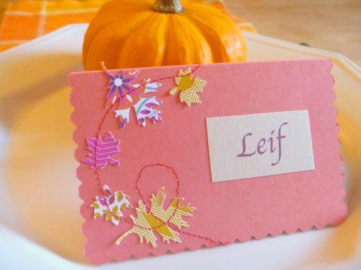 Leif's card