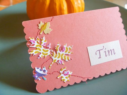 Stitche Place Card