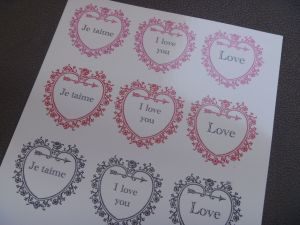 Decal Sheet-- The Tamara Blog