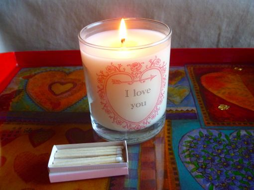 I Love You Candle -- The Tamara Blog