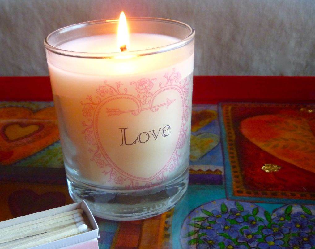 Love Candle P1080211