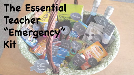 "The Essential Teacher ""emergency"" kit -- The Tamara Blog"