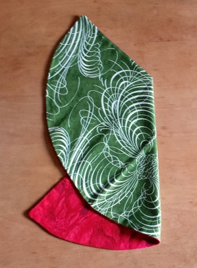 Easy Christmas Napkins, The Tamara Blog