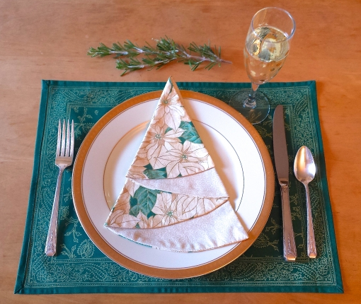 Winter White Napkin - The Tamara Blog