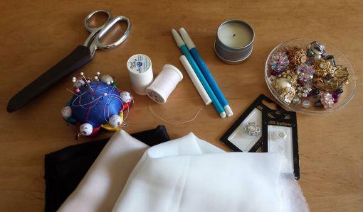 Fabric Flowers, The Tamara Blog