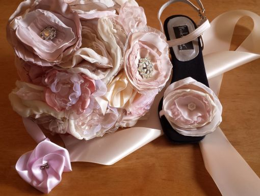 Fabric Flowers, The Tamara Blog