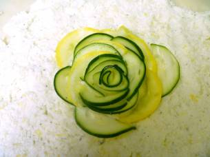 Zucchini Galette -- The Tamara Blog