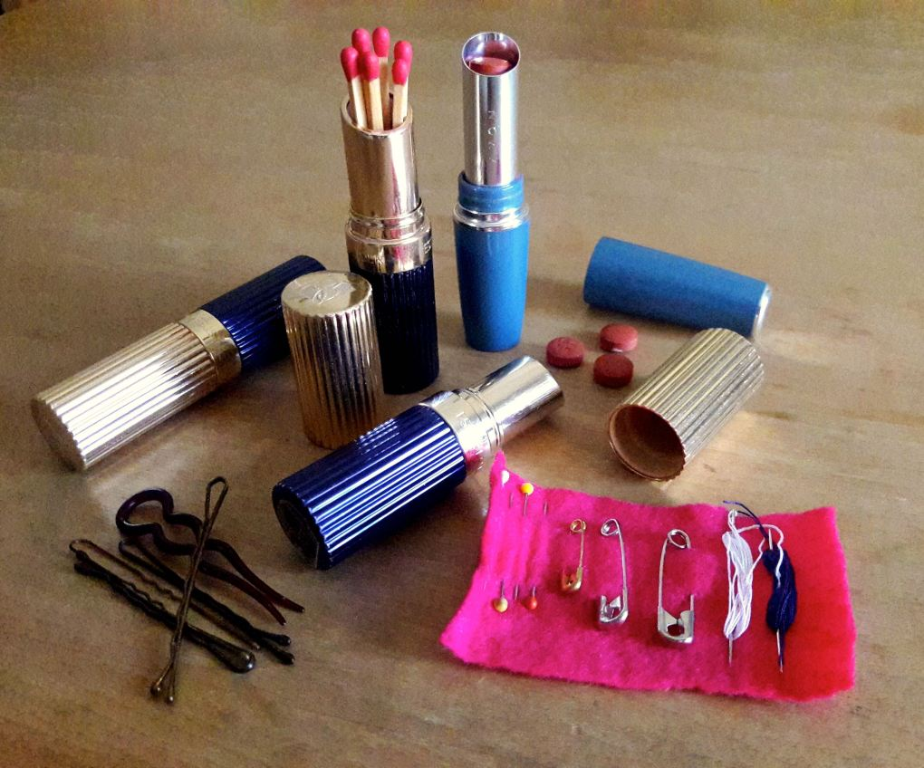 Upcycling Lipstick Tubes